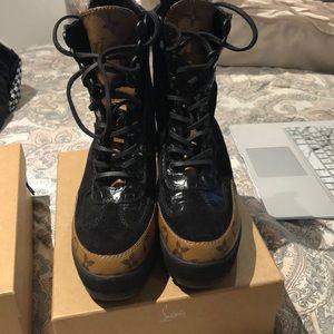 4243024b309f Louis Vuitton Combat   Moto Boots for Women